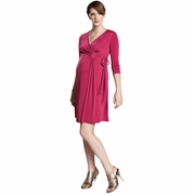 SOLD OUT Maternal America O-Ring Maternity Wrap Dress