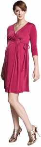Maternal America O-Ring Maternity Wrap Dress