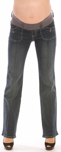 SOLD OUT Maternal America Pintuck Maternity Jeans