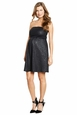 Maternal America Rose Embossed Strapless Cocktail Dress