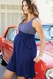 SOLD OUT Maternal America Ruffle Pocket Maternity Dress