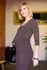 Maternal America Side Zip Maternity Nursing Dress