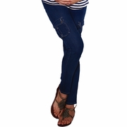 Maternal America Skinny Cargo Maternity Jeans - FINAL SALE