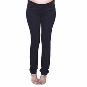 Maternal America Skinny Maternity Jeans  - Black Wash