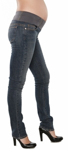 SOLD OUT Maternal America Skinny Maternity Jeans - Classic Wash