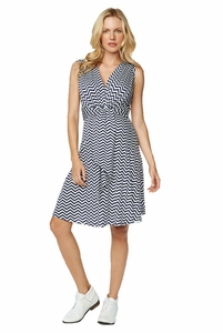Maternal America Sleeveless Mini Front Tie Maternity Dress