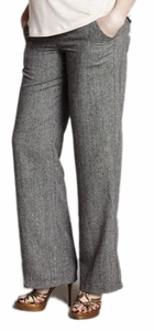 Maternal America Straight Leg Maternity Trouser Pants