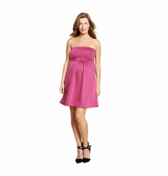 Maternal America Strapless Cocktail Dress