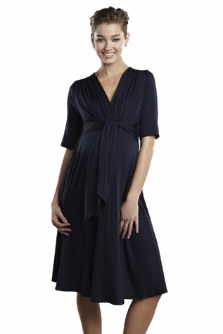 SOLD OUT Maternal America Summer Weight Front Tie Dress