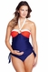 SOLD OUT Maternal America Tina O Ring Tankini Maternity Swimsuit