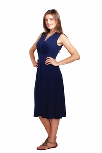 TEMPORARILY OUT OF STOCK  Maternal America Tummy Tuck Compression Nursing Dress