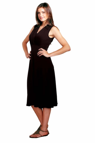 Maternal America Tummy Tuck Compression Nursing Dress - Sleeveless