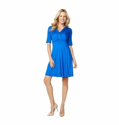 Maternal America Tummy Tuck Compression Nursing Dress - Elbow Sleeve