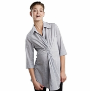 SOLD OUT Maternal America Twist Front Maternity Tunic