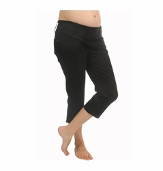 Maternal America Underbelly Capri Length Maternity Jeans