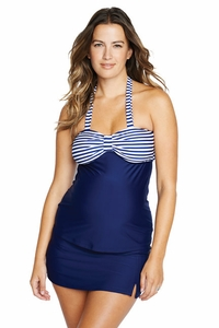 SOLD OUT Maternal America Vanessa Maternity Skirted Tankini