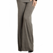 Maternal America Wide Leg Loose Knit Pants