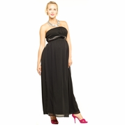 Maternite Long Tube Maternity Dress