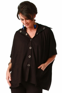 Maternite Snap Front Maternity Poncho