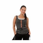TEMPORARILY SOLD OUT Molly Ades Zippered Maternity And Nursing Tank
