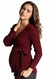 Mothers En Vogue Becks Maternity And Nursing Faux Wrap Cardigan Sweater