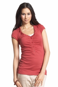 Mothers en Vogue Classic Maternity And Nursing Tee Shirt