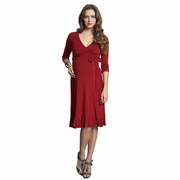 Mothers En Vogue Flamenco Maternity And Nursing Wrap Dress