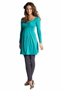 Mothers En Vogue Lola Mae Maternity And Nursing Tunic Dress