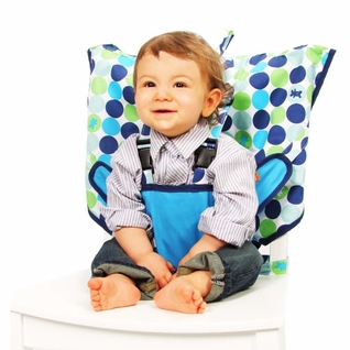 TEMPORARILY OUT OF STOCK My Little Seat Travel Highchair - Biggy Buttons
