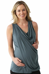 SOLD OUT Nixilu By Majamas Maternity And Nursing Sweep Tank