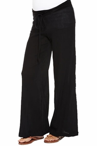 SOLD OUT Nom Gigi Wide Leg Gauze Maternity Pants