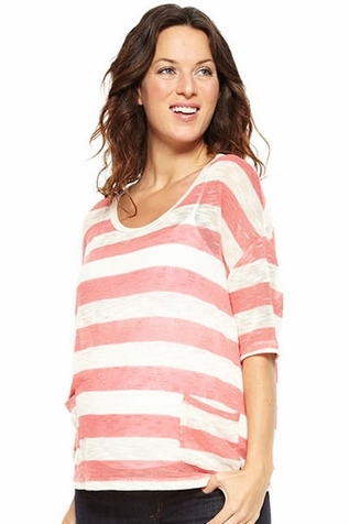 SOLD OUT NOM Hope Lightweight Summer Maternity Sweater
