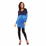 Nom Jodi Dip Dye Maternity Tunic Dress