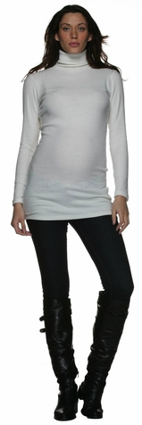 SOLD OUT Nom Kendall Ribbed Maternity Sweater Tunic