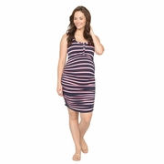 NOM Maternity And Nursing Snap Tank Dress