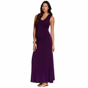 NOM Maternity Nursing Surplice Maxi Dress