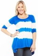 NOM Maternity Holly Tie Dye Tunic Top