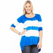 SOLD OUT NOM Maternity Holly Tie Dye Tunic Top