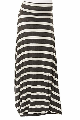 SOLD OUT Nom Rachael Maternity Foldover Maxi Skirt