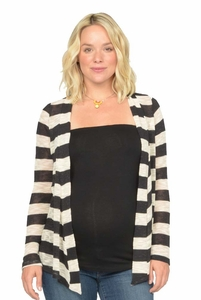 Nom Scout Lightweight Maternity Cardigan Summer Sweater