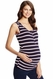 SOLD OUT NOM Maternity Snap Front Ruched Maternity Nursing Tank Top
