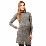 Nom Talya Maternity Turtleneck Tunic Dress