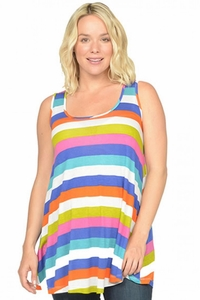 Nom Wesley Stripe Maternity Tank Top