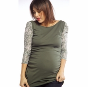 Nuka Ballet Maternity Top
