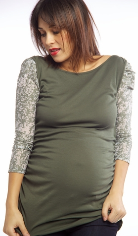 SOLD OUT Nuka Ballet Maternity Top