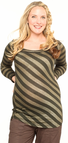 Nuka Striped London Maternity Top