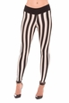 Olian Abby Striped Maternity Leggings