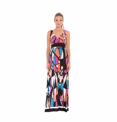 Olian Alexus Maternity Maxi Dress