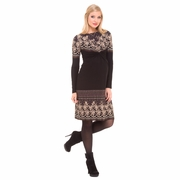Olian Camila Arabesque Print Maternity Dress