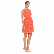 Olian Cara Eyelet Maternity Tank Dress